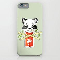 Panda Banner Slim Case iPhone 6s