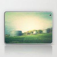 Farm land drive by Laptop & iPad Skin
