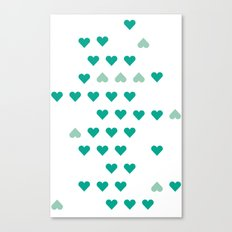 bleating hearts Canvas Print
