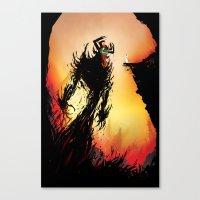 Shadow Warrior  Canvas Print
