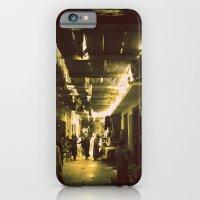 iPhone & iPod Case featuring Marrakesh street life by Amdis Rain