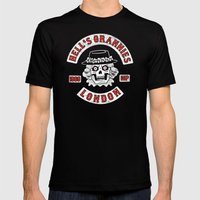Hell's Grannies 1969 Mens Fitted Tee Black SMALL