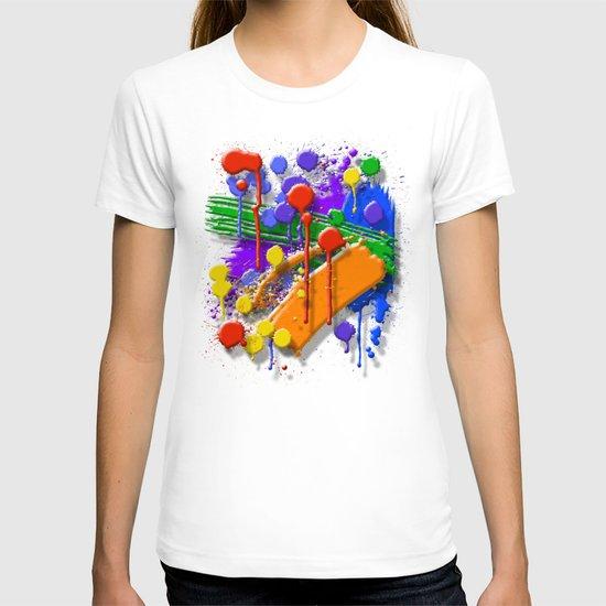 The Big O (Drip Porn Pattern) T-shirt
