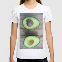 make me some guac Womens Fitted Tee Ash Grey SMALL