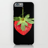 iPhone & iPod Case featuring strawberry by Arevik Martirosyan