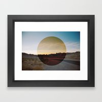 The Future.  Framed Art Print