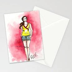 Yellow Top Stationery Cards