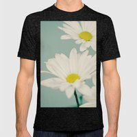 DAISY  Mens Fitted Tee Tri-Black SMALL