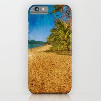 iPhone & iPod Case featuring restful beach view by Wendy Townrow