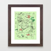 7-14-15 Framed Art Print