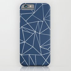 Ab Dotted Lines Navy Slim Case iPhone 6s