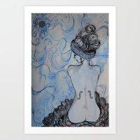 Man Ray Inspired Art Print