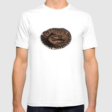 This was a Cupcake. SMALL Mens Fitted Tee White