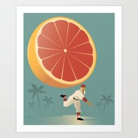 Grapefruit League Art Print