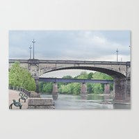 Dillingham Street Bridge Canvas Print
