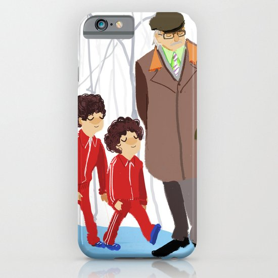 let's shag ass (wes anderson) iPhone & iPod Case