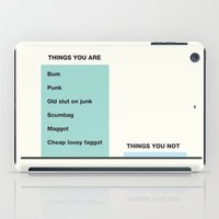 Fairytale Of New York  iPad Case
