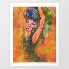 Dancing in Light Art Print