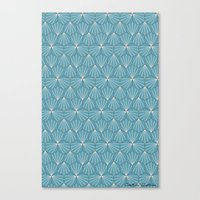 Canvas Print featuring Moroccan Mosaic by SalbyN