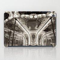 Carousel in B&W iPad Case