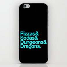 Dungeons & Dragons & Swag iPhone & iPod Skin
