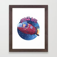 Space ace Framed Art Print