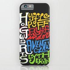 Hogwarts Houses iPhone 6 Slim Case