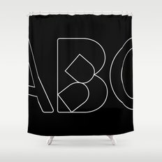 Collapsed Shower Curtain