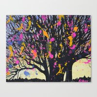 Tree Magic Canvas Print