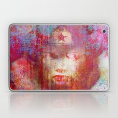 wonder abstract woman Laptop & iPad Skin