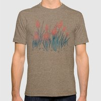 Hyacinths In The Night Mens Fitted Tee Tri-Coffee SMALL
