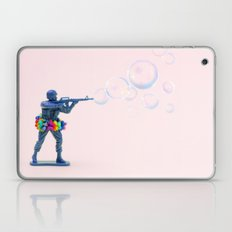 Shoot bubbles, not bullets Laptop & iPad Skin
