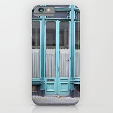 Blue door iPhone 6 Slim Case