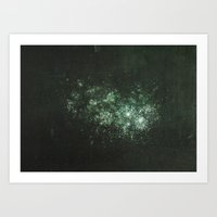 Star Cluster Art Print