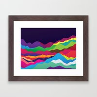 Mountains of Sand Framed Art Print