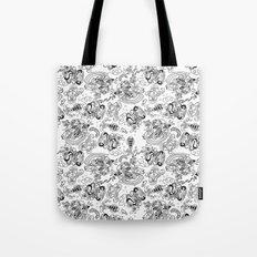 Polypus Filamentum (Pattern) Tote Bag
