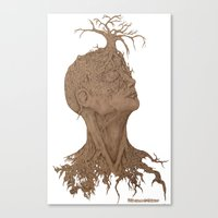 Seeded Truth: Beauty of a growing mind  Canvas Print