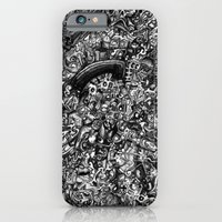 Overtime At The Power St… iPhone 6 Slim Case