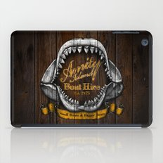 Amity Island Boat Hire iPad Case