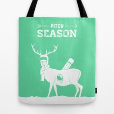 Pitch Season (Killed by work) Tote Bag