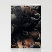 Balthier And Fran Final … Stationery Cards