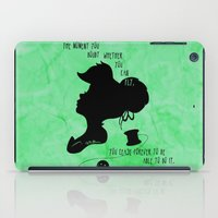 The Moment You Doubt You… iPad Case