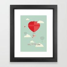 Up & Away Framed Art Print