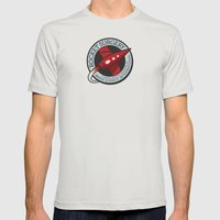 Rocket Surgery Mens Fitted Tee Silver SMALL