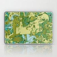 Green Town Laptop & iPad Skin