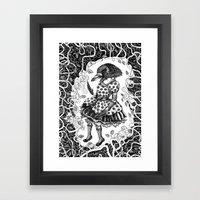 Crow Serie :: Aglaé  Framed Art Print