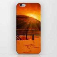 Howden Sun Burst iPhone & iPod Skin