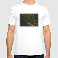 Snow White Mens Fitted Tee White SMALL