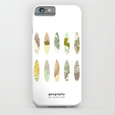 Geography of surfing Slim Case iPhone 6s