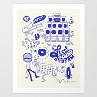 Support Your Local Sound… Art Print